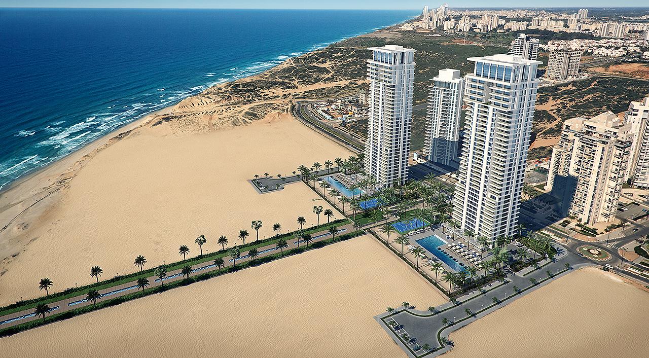 Пентхаус в проекте «МОРЕ» в Ир-Ямим в Нетании цена 5.800.000$