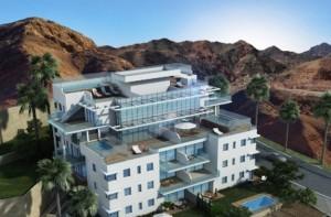 Новые квартиры в строящемся элитном комплексе Эйлата